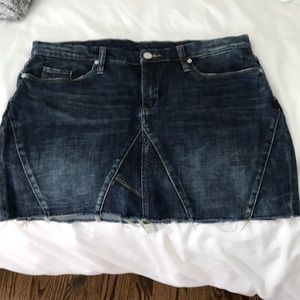 Jean skirt (bought from free people)